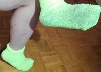 Getragene Socken mit DUFT
